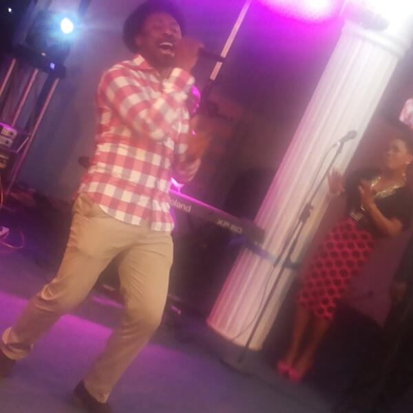 Samsong on stage at #AccessGranted