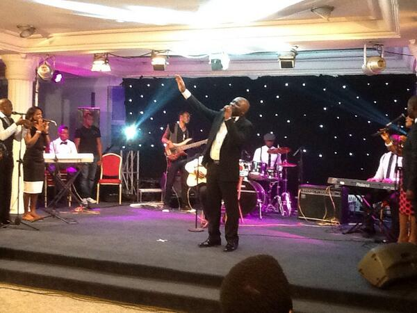 Freke on stage at #AccessGranted