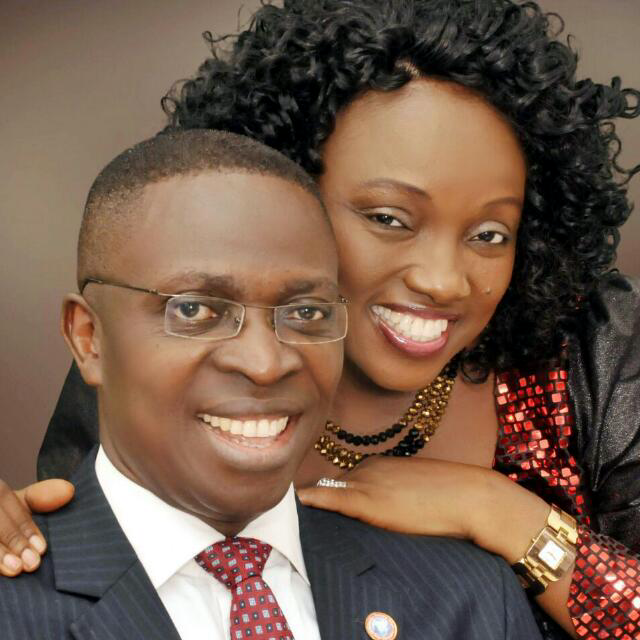 Dr. Inyang & Wife (Aity Dennis)