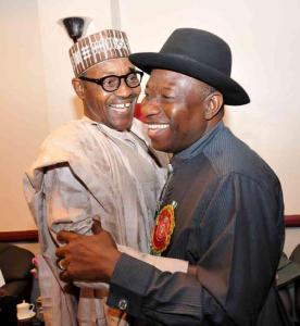 Gen. Buhari and Dr. Jonathan || Photo: 36ng.com.ng
